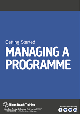 Getting Started: Managing a Programme
