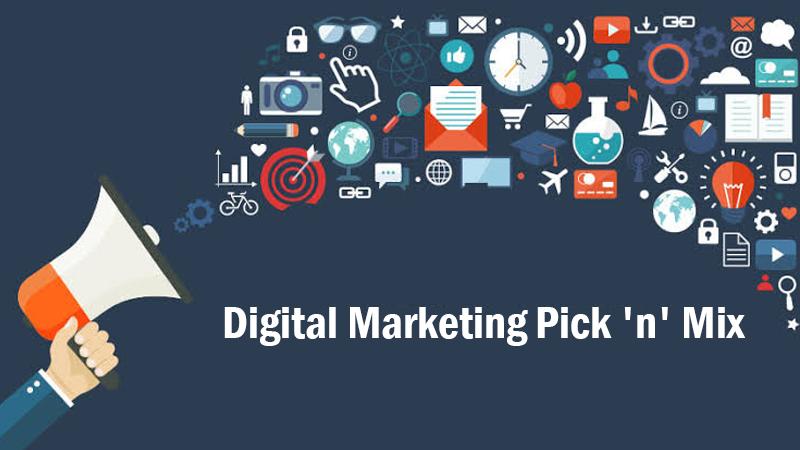 Digital Marketing Pick 'n' Mix